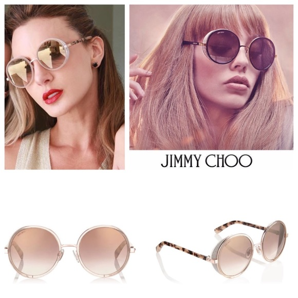 14812b927474 Jimmy Choo Accessories - JIMMY CHOO ' ANDIE ' Round Sunglasses